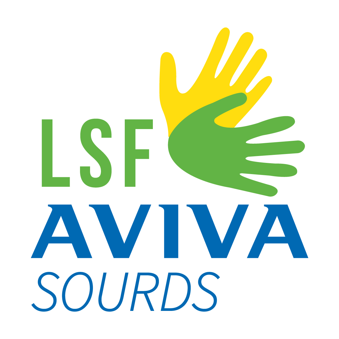 Logo LSF Aviva Sourds